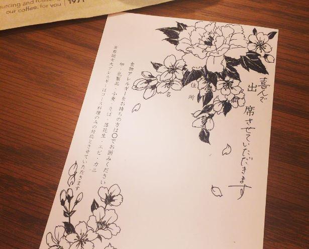 ステキな結婚式招待状の返信アイディア20選♡