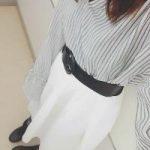 【¥1490+税】これ1枚で春気分♡今から履けるGUの新作スカートに大注目!