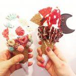カワイイでしかない。Bistoppingのアイスクリームが食べたいの。