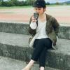 """UNIQLOカシミヤブレンドVネックセーターが""""ユニ女""""に大人気!"""