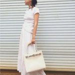 春夏のホワイトコーデは格別に美人度が高めなファッション