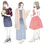 体型のお悩みは服でカバー。着やせに役立つ春のおすすめアイテム