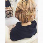 ショートヘアでもできる!かわいい三つ編みアレンジのやり方