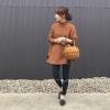 秋らしさNo1♡「キャメル」で季節感漂うカジュアルコーデ4選