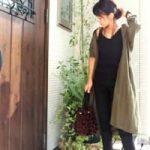 ユニクロのシャツワンピを使った秋コーデ15選♪2WAYできるシャツワンピは着回し力抜群!