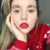 眉メイクの新トレンド「クリスマスツリー眉」☆本物のツリーみたいにキラキラにデコっちゃお♡