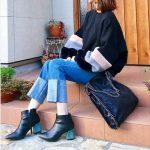 海外セレブも愛用中♡エッジの効いたチェーントリミングバッグ