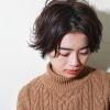 マフラーで更にかわいい♡冬の最旬トレンドショートヘア10選