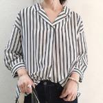 GUのフェミニンシャツはもうGETした?普段着からオフィスコーデまで着こなせちゃう大人可愛いシャツ大集合♪