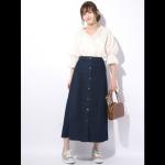 夏でもデニムを着たい♡1着は持っていたい優秀アイテム「デニムスカート」の着回しアイデアをご紹介♪