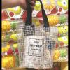 高見えでおしゃれコーデに♡プチプラ『3coins』のクリアバッグはこの夏大活躍するアイテムです