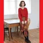 女性の味方色♡華やかで女度を上げてくれる冬の【赤コーデ】特集