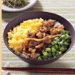 野菜と肉のバランスが絶妙♪旬のごぼうを使った「どんぶり料理」