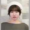 おしゃれな白のベレー帽まとめ!女の子らしさを帽子でON♡