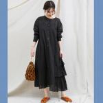 【2019春】周りと差をつけた大人なコーデ♡ 着こなし自由自在な「黒ワンピース」特集