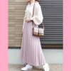 夏に可愛いピンクコーデ!ピンク×白の組み合わせで爽やかに着こなし♪