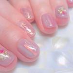ショートネイル×ピンクは最強説♡短い爪にかわいいを詰め込もう♪