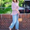 『高級感×上品』で魅せる、とろみシャツ&ブラウスコーデ15選♡