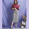 メリハリのあるくびれが作れちゃう♡レースアップスカートの女性らしい美シルエットコーデ集をご紹介♪
