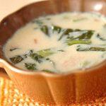 15分で暖かくなる♡温活レシピ「チンゲンサイのソイスープ」☆