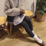 お洒落で暖かいファッションスタイル♡おすすめ『ソックス×シューズ』コーディネートを紹介