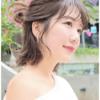 【必見】忙しいママの味方!「ショートヘア」簡単まとめ髪アレンジ5選