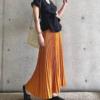 【トレンドアイテム】夏のお手本コーデは鮮やかでおしゃれ♡『カラープリーツスカート』の着こなしは必見♪