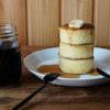 【おうちカフェ】セリアの『厚焼きホットケーキ型』&調理例をご紹介♡