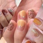 【ネイル】指先から季節先取り♡チビ爪におすすめ『秋色ネイルデザイン』5選