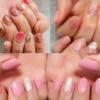 ピンク系「天然石ネイルデザイン」10選!今年の春ネイルはこのデザインで決まり♪