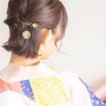 【簡単】浴衣に似合う髪型10選!おしゃれで大人っぽいヘアアレンジはコレ♡