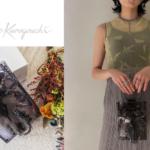 Mame Kurogouchi(マメ クロゴウチ)|上品&個性派クリアバッグはお呼ばれスタイルにピッタリ♪
