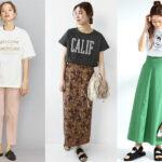 30代女性におすすめの「プリントTシャツ」夏コーデ10選!トレンドの大人カジュアルスタイルをお届け♪