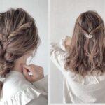 「前髪なし×まとめ髪」おしゃれヘアアレンジ10選 簡単なスッキリお出かけスタイル特集