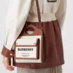 シンプルなのに存在感がある「BURBERRY」のポケットバッグに熱視線!