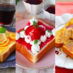 おうちカフェにおすすめ「スイーツトースト」レシピ5選 ごパン派さんに人気のフルーツやチーズを使った贅沢トースト