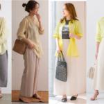 30代女性のランチデートコーデ10選|2021年夏にぴったりな【黄色シャツ】を使った好印象ファッション