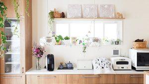 【インテリア】狭い台所もおしゃれに!キッチン家電収納アイデア実例集♪